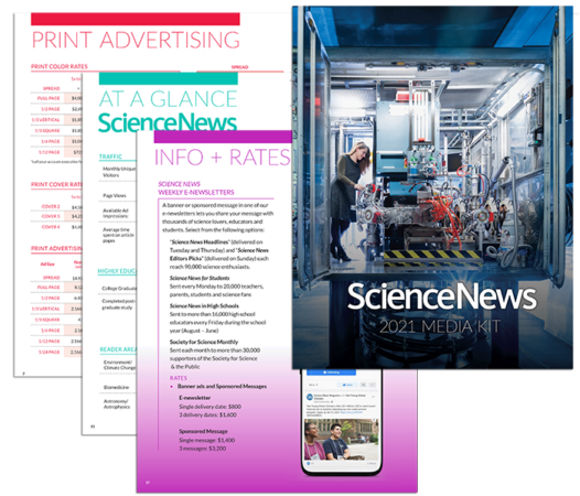 Science News Media Kit 2021