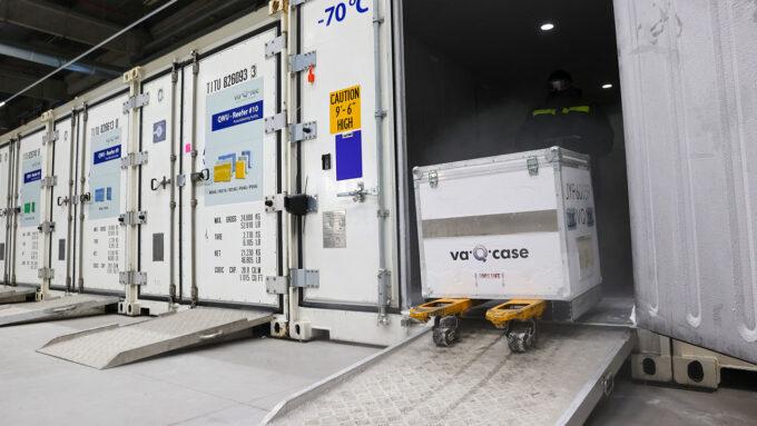 cold case for vaccine storage