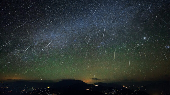 Geminid meteor shower