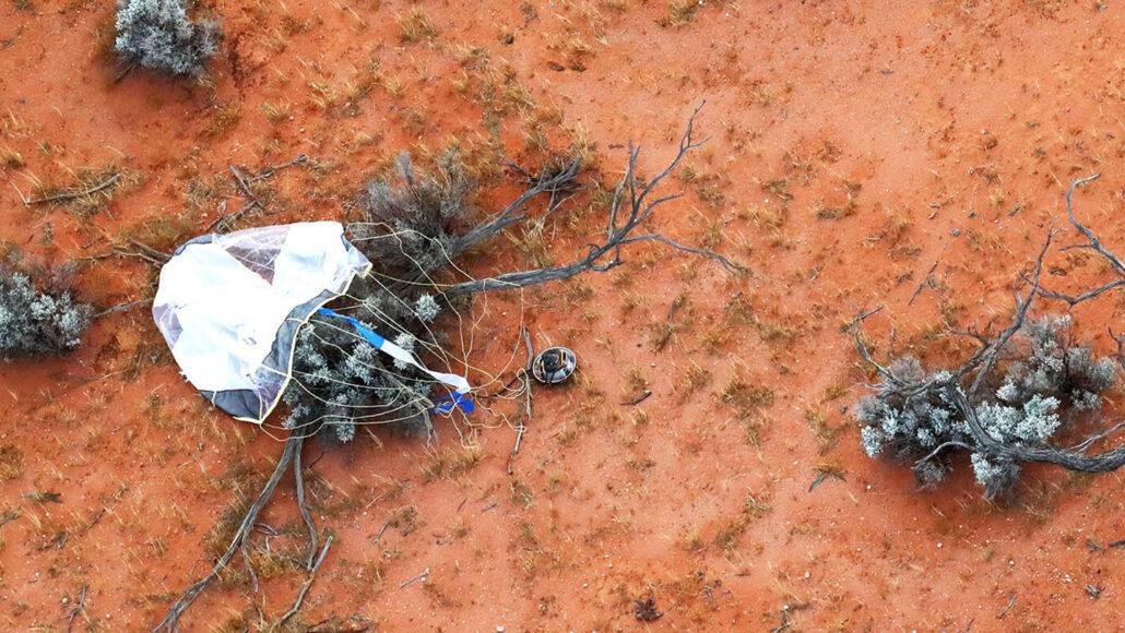 Hayabusa2's sample return capsule