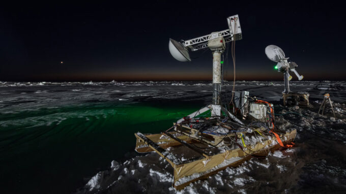 remote sensing instruments in the Arctic