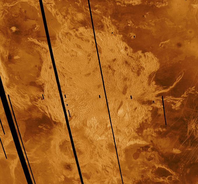 tesserae on Venus