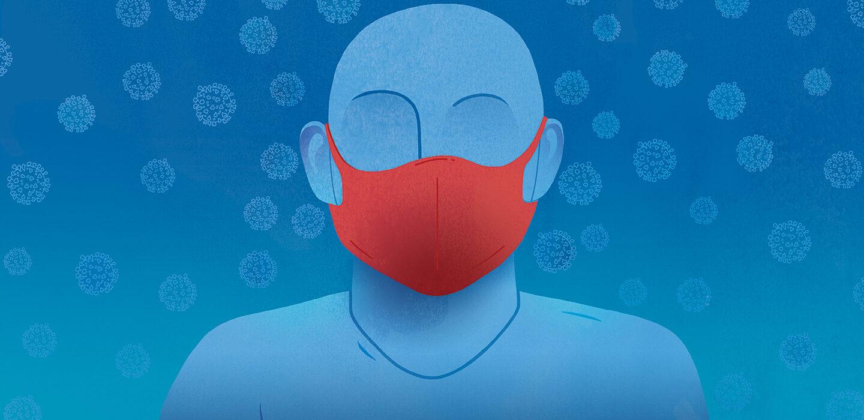 mask illustration