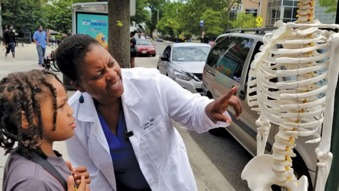 Physician Lisa Fitzpatrick