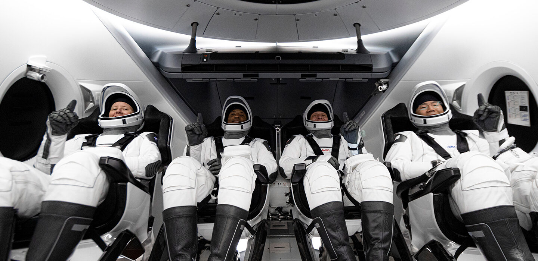 ISS'ye seyahat eden astronotlar