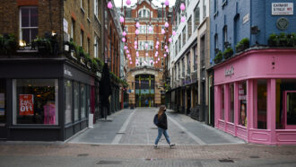 Carnaby Street in London