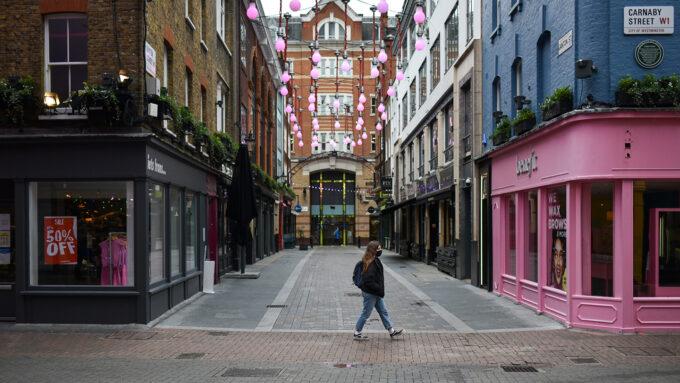 Carnaby Street in London