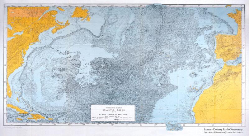 detailed map of landforms
