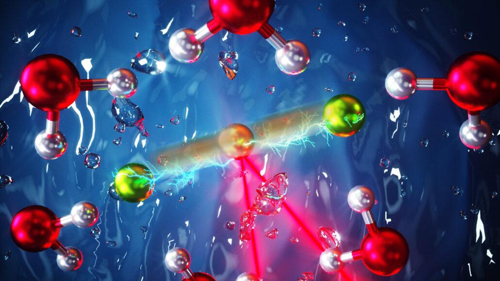 fluorine atoms bonded to hydrogen atom
