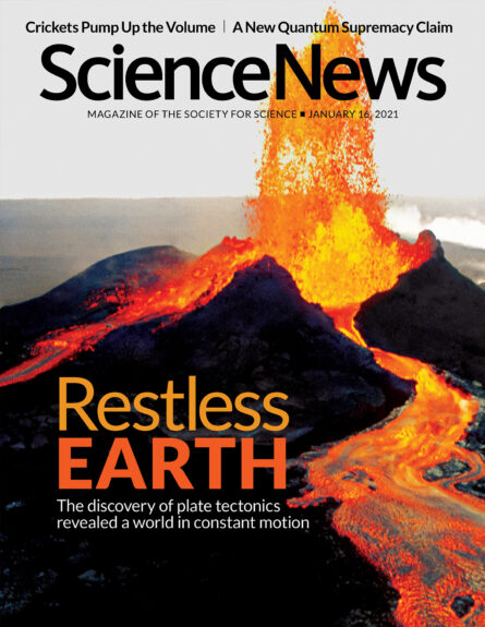 cover of January 16, 2021 issue