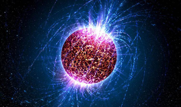 Illustration of a neutron star