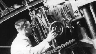 Historical picture of Edwin Hubble