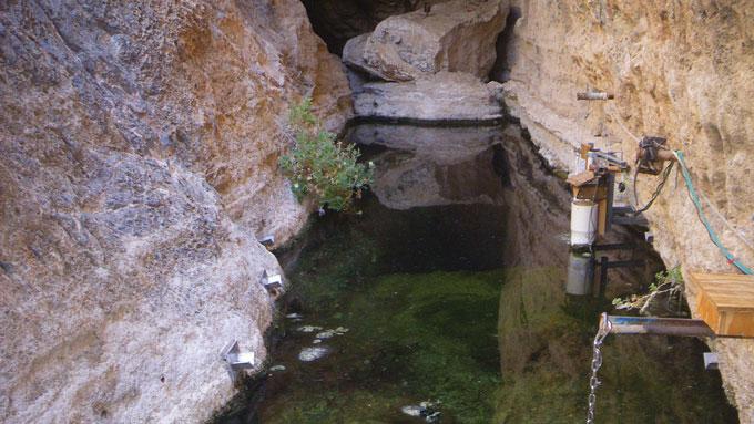 cavern in Nevada