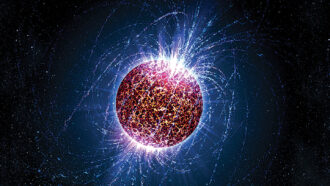 neutron star illustration