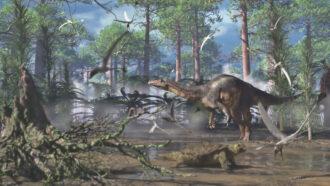 illustration of Plateosaurus