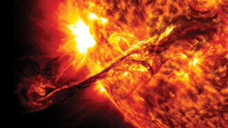 Coronal mass ejection from July 2012