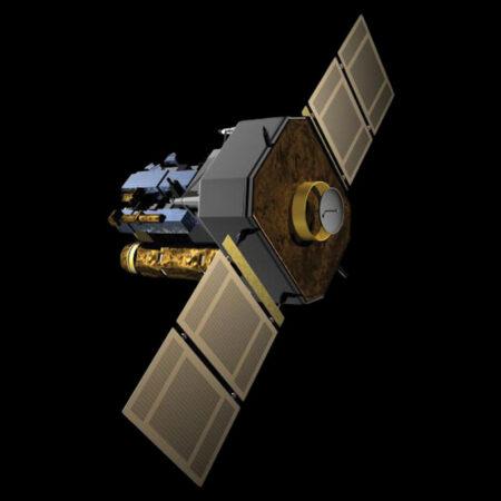 SOHO satellite illustration