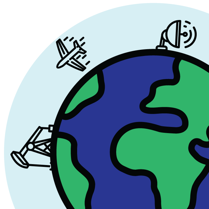 illustration of of earth