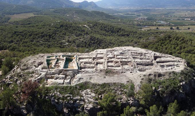 La Almoloya site landscape