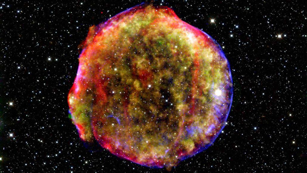 remnant of a 1a supernova