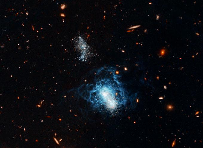 galaxy I Zwicky 18