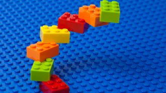 Lego staircase