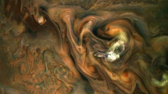 clouds of Jupiter