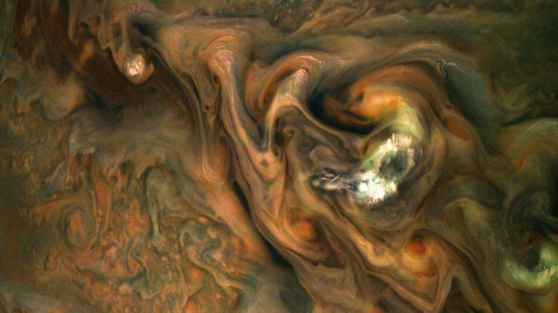 clouds of Jupiter