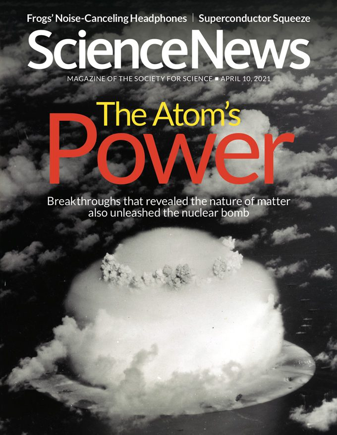 cover of the April 10, 2021 issue