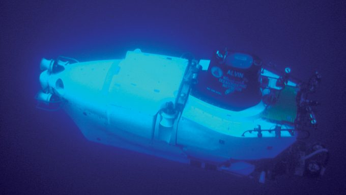 a photo of a submersible