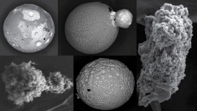 5 micrometeorites found in Antarctica