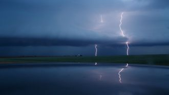 Lightning may be an important source of air-cleaning chemicals