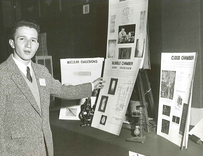 Roald Hoffmann in the 1955 Science Talent Search