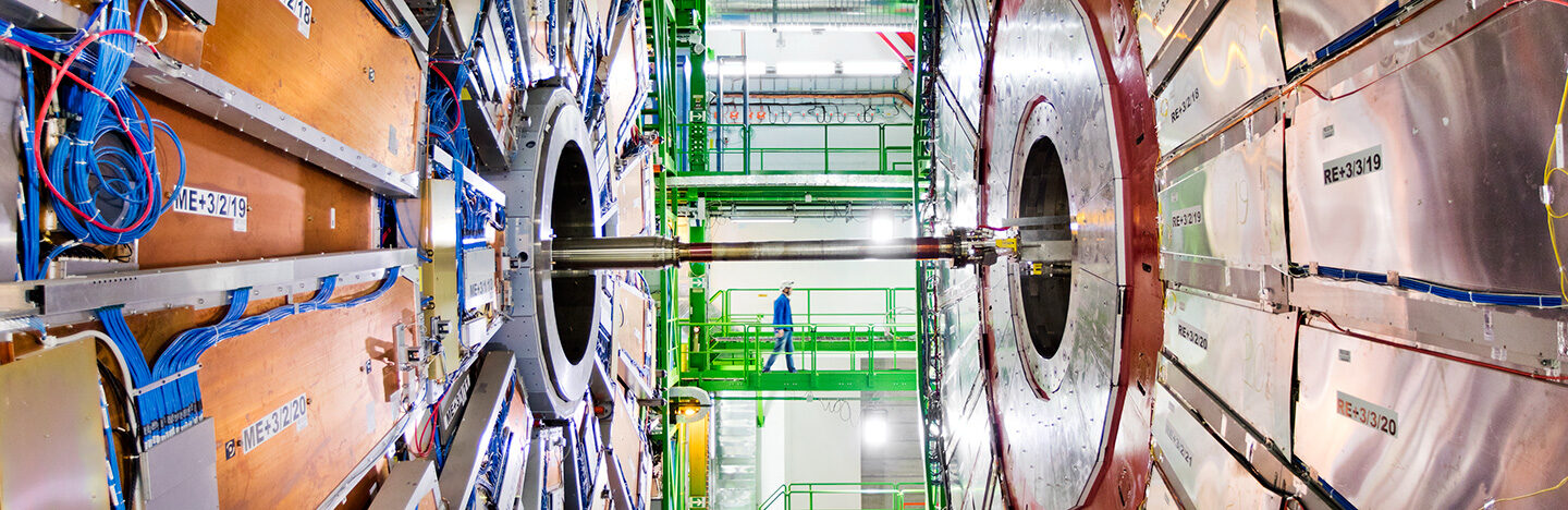 inside the large hadron collider