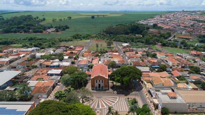 aerial image of Serrana, Brazil