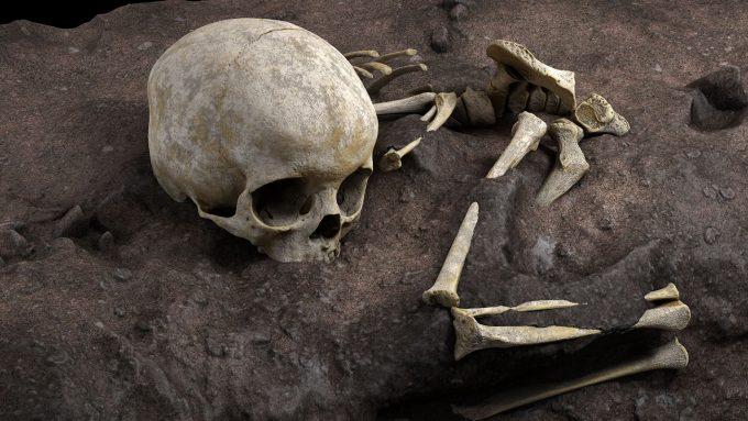 virtual reconstruction of child's bones