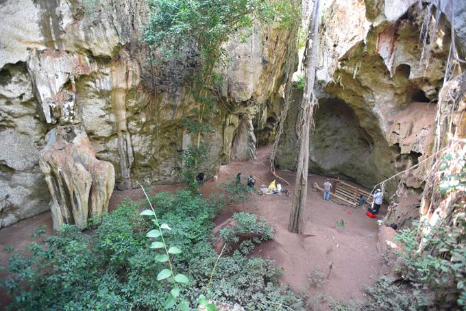 Panga ya Saidi cave site
