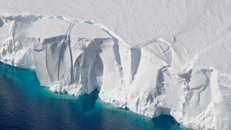 image of Getz Ice Sheet in Antarctica