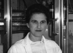 black and white photo of Beatrice Mintz