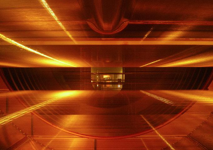 immagine del rilevatore UA1 del CERN
