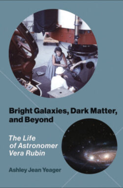 """Cover of """"Bright Galaxies, Dark Matter, and Beyond"""" by Ashley Yeager"""