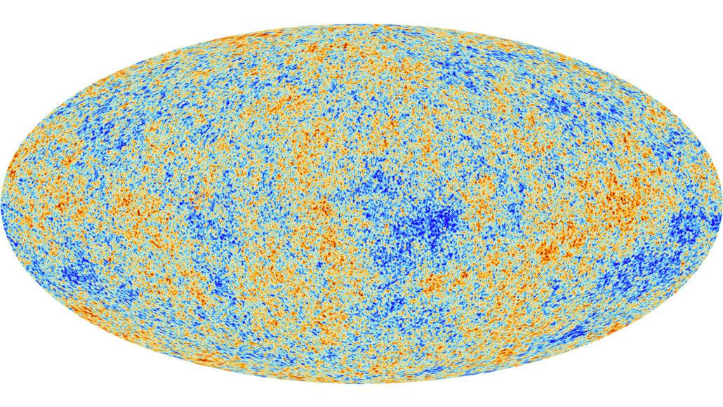 sfondo cosmico a microonde