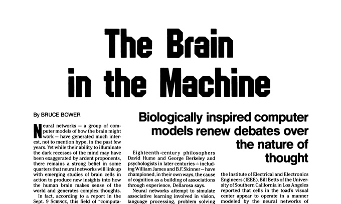 SN coverage of brain computer link