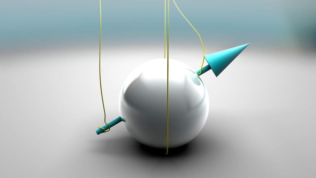 illustration of quantum spin
