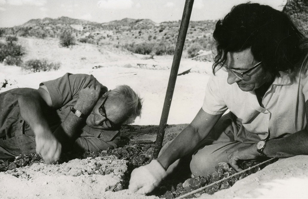 Mary and Louis Leakey