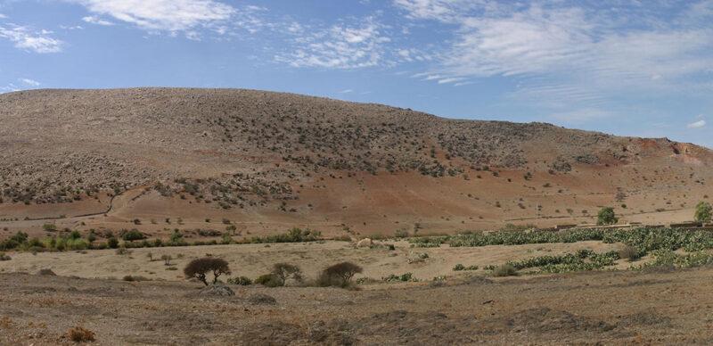Jebel Irhoud in Morocco