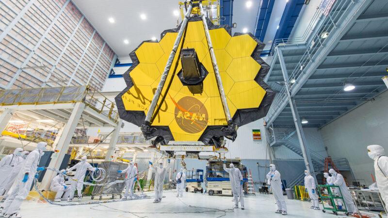 origami satellite james webb