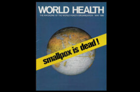 cover of WHO magazine