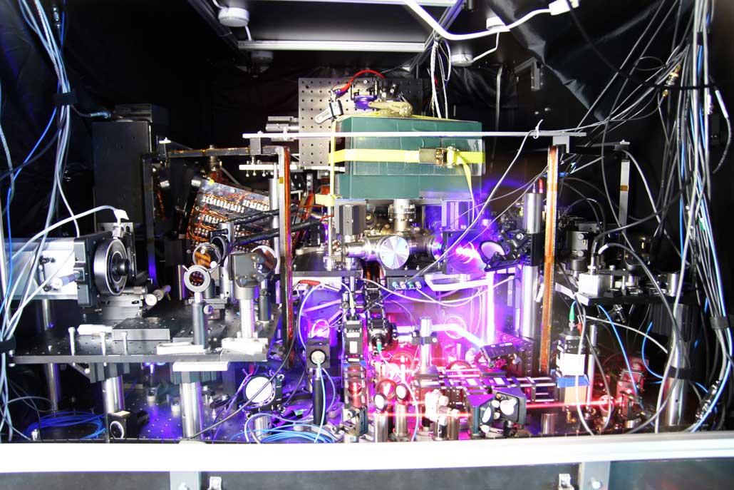 image of an atomic clock at JILA